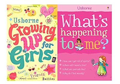 What's Happening to Me? Growing Up for Girls Collection 2 Books Set,(What's Happening to Me?: Girl and Growing Up for Girls)