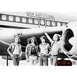 Led Zeppelin Airplane Music Poster