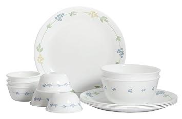 Buy Corelle Livingware Secret Garden Dinner Set 14 Pieces Online