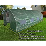 On Sales Limited Qty! Quictent® 20'x10'x6' Portable Greenhouse Large Walk-in Green Garden Hot House