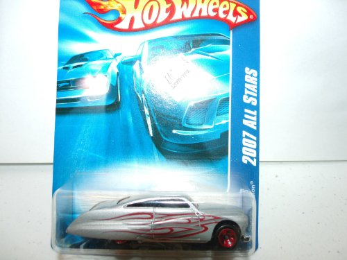 Hot Wheels Silver Red Flames Purple Passion 2007 All Stars 153/180 - 1