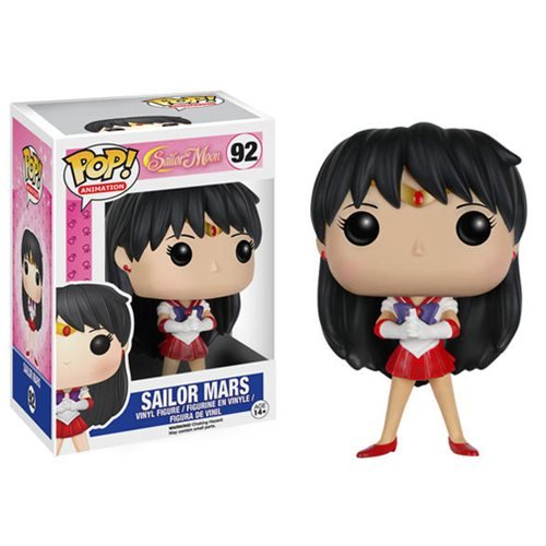 Funko POP Anime: Sailor Moon - Sailor Mars Action Figure - Funko Pop! Animation: