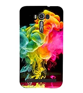 Colour Spurt 3D Hard Polycarbonate Designer Back Case Cover for Asus Zenfone 2 Laser ZE500KL (5 INCHES)