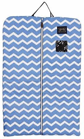Equine Couture Abby Garment Bag, Light Blue/Navy, Standard (Garment Bag Light compare prices)
