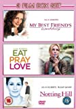 3 Film Box Set: Eat Pray Love/Notting Hill/My Best Friend'S Wedding [DVD]