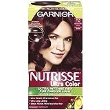 Garnier Nutrisse Hair Color, R2 Medium Intense Auburn Nourishing Color Creme Permanent