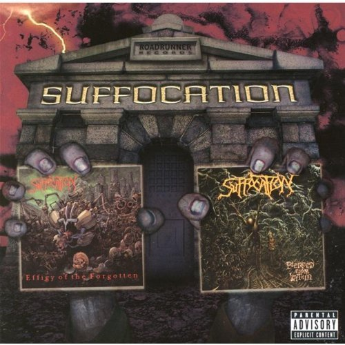 Effigy of the Forgotten / Pierced From Within by Suffocation (2003) Audio CD