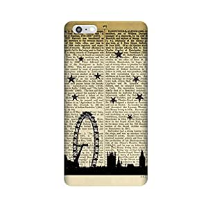 PaperLondonStory Case for Apple iPhone 6/6s Plus