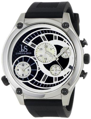 Joshua & Sons JS713SS - Reloj para hombres