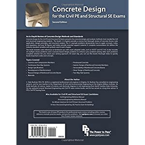 Concrete Design for the Civil PE and Structural SE Exams, 2nd Edition