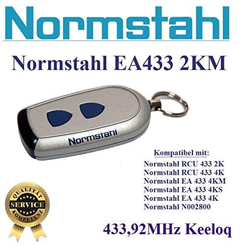 NORMSTAHL EA433 2KM handsender 2-kanal 433.92Mhz