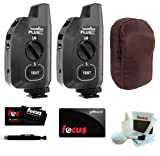 PocketWizard Plus X Radio Trigger with 10 Channels (Set of 2) + Carrying Bag for 2 Triggers + Bonus Focus Gift Card!