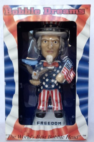Uncle Sam Freedom United We Stand Bobble Head by Bobble Dreams - 1