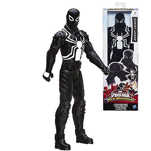 Hasbro Ultimate Spider-man Web Warriors - Agent Venom 29 cm Titan Hero Eroi titanici