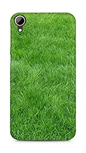 Amez designer printed 3d premium high quality back case cover for HTC Desire 828 (Grain Grass field)