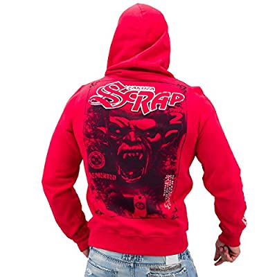 Yakuza ORIGINAL Hoodie HOB 525 - ribbon red