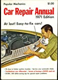 Popular Mechanics Car Repair Manual 1971