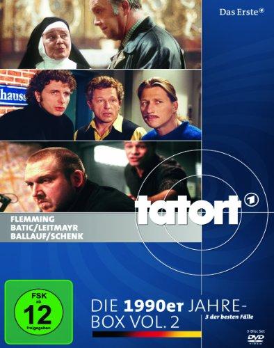 Tatort: Die 1990er Jahre, Vol. 2 (Flemming - Heilig Blut / Batic/Leitmayr - Gefallene Engel / Ballauf/Schenk - Licht und Schatten) [3 DVDs]
