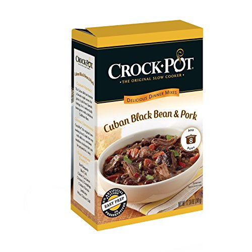 Crock-Pot Delicious Dinners, Cuban Black Bean and Pork, 12.3 Ounce (Pack of 6) (Crockpot Sauces compare prices)