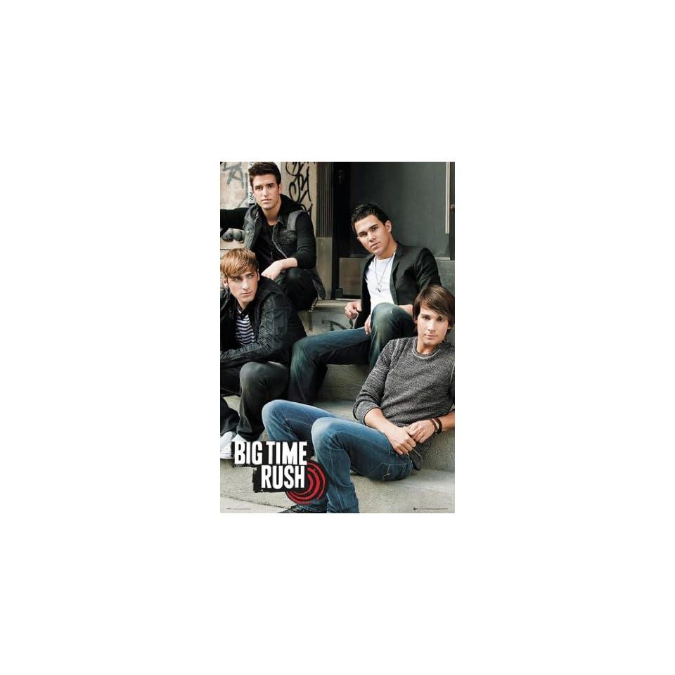 Poster Big Time Rush   steps   Größe 61 x 91, 5 cm   Maxiposter