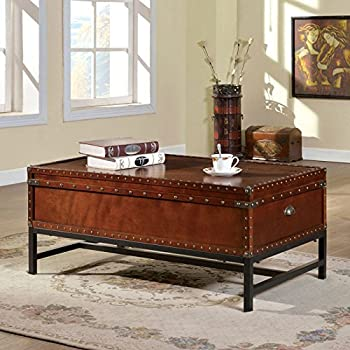 Milbank Old English Style Cherry Finish Coffee Table