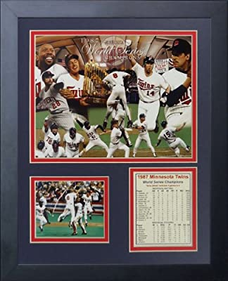"Legends Never Die ""1987 Minnesota Twins Champions"" Framed Photo Collage, 11 x 14-Inch"