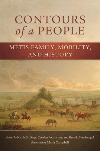 Contours Of A People: Metis Family, Mobility, And History (New Directions In Native American Studies Series) front-834381