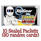 Topps Top gear Turbo Attax 10 sealed Booster Packets (80 random cards)