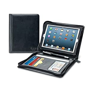 iLuv iCA8J345BLK CEO Folio for iPad mini - Black