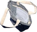 (マルカワジーンズパワージーンズバリュー) Marukawa JEANS POWER JEANS VALUE トートバッグ ファスナー付き 保冷 保温 ランチバッグ 5color Free ネイビー