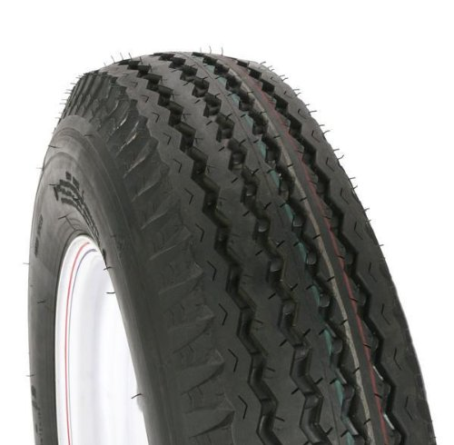 Kenda Trailer Tire/Wheel Assembly - 6-Ply Rated/Load