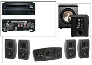 Klipsch Quintet V(5) Home Theater System-Onkyo TX-NR626