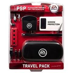 Sony PSP Slim & Lite / PSP 3000 - Travel Pack [black] (EA Sports Edition)