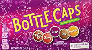 Wonka Bottle Caps, Soda Pop Candy, 5.5 Ounce (Pack of 12)