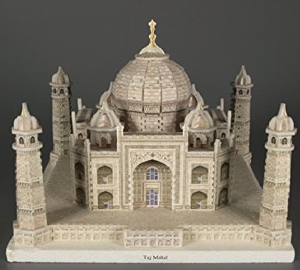 Kids Authority Kids Adult DIY 3D Puzzle Taj Mahal mausoleum Building Blocks Set