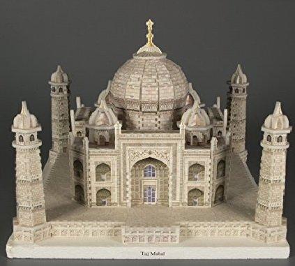 Kids Authority Kids Adult DIY 3D Puzzle Taj Mahal mausoleum Building Blocks Set