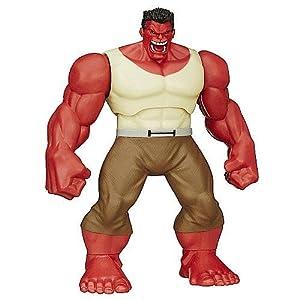 The Avengers Red Hulk Shake n Smash Figure