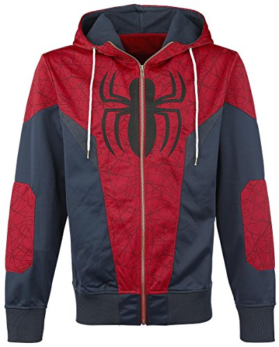 Spiderman Logo Felpa jogging rosso/blu L