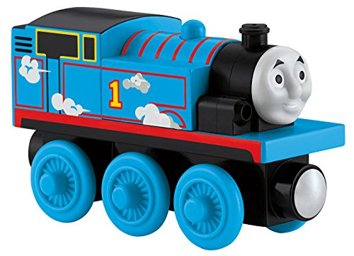 Fisher-Price Thomas the Train Wooden Railway Roll & Whistle Thomas - 1