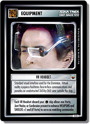 Star Trek Ccg 1E Ttwt Tribbles Vt Headset 15U