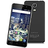 "Cubot P12 - 5.0"" Smartphone Libre Android 3G (HD 1280x720P, Quad Core, 1G Ram, Dual Sim, 16G, 8Mp, HotKnot Otg Air Gesture Smart Wake Multi-Idioma), Negro"