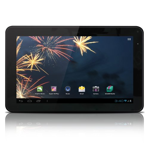 Hip Street FLARE HS-9DTB4-4GB 9-Inch Tablet (Black)