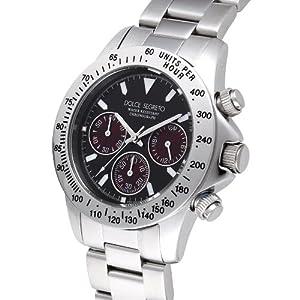 [ドルチェセグレート]DOLCE SEGRETO 腕時計 CG100BKR ブラック文字盤 メンズ