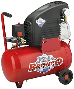Clarke AC2000B Bronco 2 HP 6 Gallon Air Compressor, Oil Lubricated