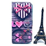 M-LV Samsung Galaxy S5 leather Case (...