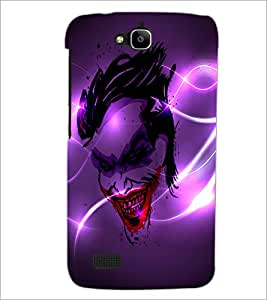 PrintDhaba Joker D-2836 Back Case Cover for HUAWEI HONOR HOLLY (Multi-Coloured)