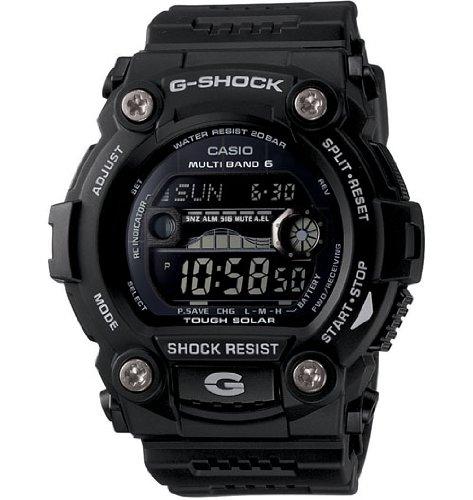 Casio Men's GW7900B-1 G-Shock Solar Atomic Black