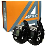(2-pcs) AGPtek® two-way Multi-channels Wrist-operated Wristwatch Walkie Talkie Wrist Watch--Auto Channel Scan--LCD display--Auto Squelch -- 12 hours AM/PM time display up to 5 Hours talk time