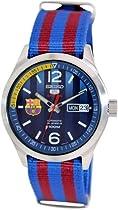 Seiko 5 Sports Blue/Red Watch SRP303K1