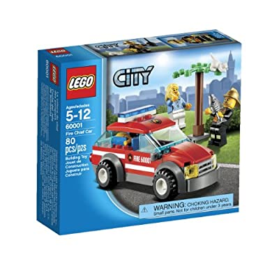 LEGO City Fire Chief Car 60001 from LEGO City